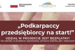 """20.07.2021 r. rozpoczyna się II edycja rekrutacji do projektu """"PODKARPACCY PRZEDSIĘBIORCY NA START!"""" Kliknięcie w obrazek spowoduje wyświetlenie jego powiększenia"""